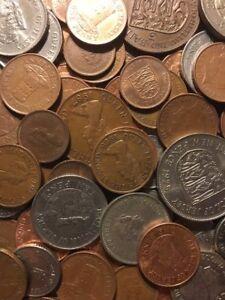100 Gramm  Restmünzen/Umlaufmünzen Jersey
