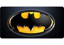 BATMAN Logo Personalised/Plain LICENSE PLATE - Number Plate-Metal