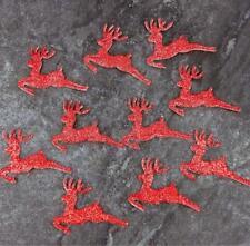 Rojo Renos para Tarjetas & Decoración, Ideal para Niños Manualidades, Navidad,