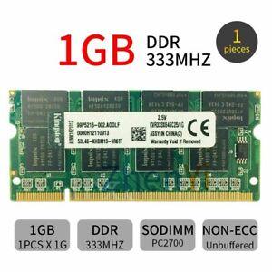 Für Kingston 1GB PC1-2700 333MHz 200Pin SO-DIMM Notebook Arbeitsspeicher RAM DE