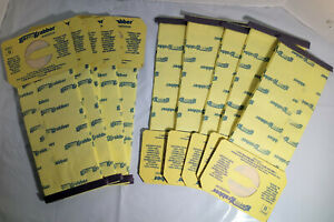 OEM Electrolux Germ Grabber U Style Vacuum Cleaner Bags Open Box lot of 10 bags