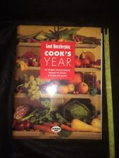 Good Housekeeping Cook's Year hardback book over 500 recipes