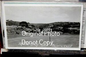 #D2918,Golf Course La jolla CA Real Photo,Seldom Seen @1940's