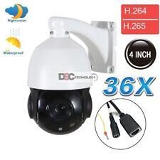 36X Optical HD 2MP 1080P ONVIF Zoom 4.6-165mm CMOS Outdoor IP PTZ Dome Camera IR