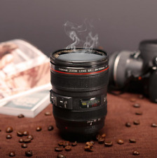 lens mug camera cup coffee stainless thermos travel steel 24 tea 105mm DSLR MUG