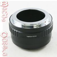 Tamron Adaptall 2 AD2 lens to Canon EOS M EF-M mount Mirrorless camera adapter