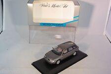 MINICHAMPS AUDI A4 AVANT STATION 1995 MET. GREY MINT BOXED RARE SELTEN RARO!