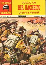 COMMANDO CLASSICS 19 - DE SLAG OM BIR HACHEIM (1975)
