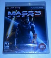 Mass Effect 3  (Sony Playstation 3, 2012) ps3 Game Brand new and sealed