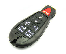 Remote Key Blank Shell Case Pad Cover Replacement Fobik For Chrysler 7 Buttons