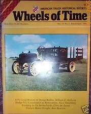 DIAMOND T Trucks, DUMP Body history, WHEELS of TIME