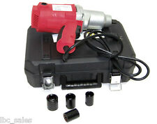 "1/2"" DRIVE ELECTRIC IMPACT WRENCH  WITH SOCKETS"