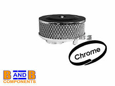 VW T1 BEETLE T2 TRANSPORTER CAMPER CHROME ROUND PANCAKE AIR FILTER A451