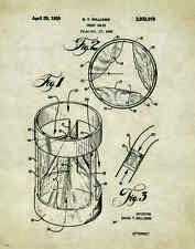 Medical Doctor Patent Poster Art Print Heart Surgeon Nurse Instruments PAT310