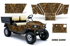 Golf Cart Graphics Kit Decal Sticker Wrap For E-Z-Go Workhorse 96-03 WING CAMO