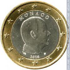 Moneta 1 euro Monaco Albert 2016