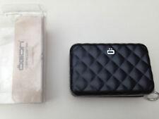 Ögon Design Quilted Zipped Card Holder Black
