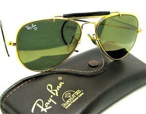 Ray-Ban USA Vintage B&L Aviator Outdoorsm Diamond Hard Survivor W1506 Sunglasses