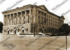 "Montgomery, Alabama Federal Courthouse 1933 5x7"" Sepia Photo FREE SHIPPING!"