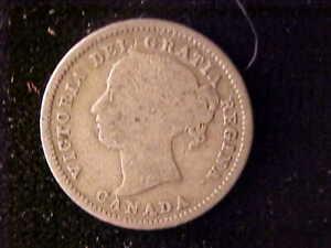 VICTORIA 10 CENTS 1871