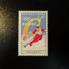 ANDORRE FRANÇAIS N°498 JEUX OLYMPIQUES D'HIVER / NAGANO NEUF ** LUXE MNH