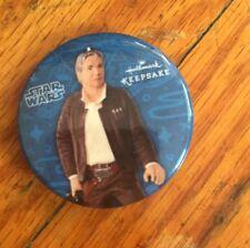 Star Wars Han Solo Harrison Ford Pin - Hallmark Keepsake- Nycc Exclusive- New