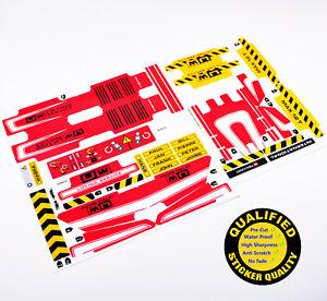 ERSATZ Aufkleber/Sticker für LEGO 8258 Technic Crane Truck