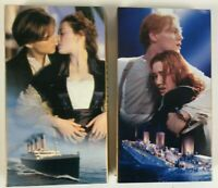 titanic vhs 1998 2 tape set widescreen edition academy best picture sound effect