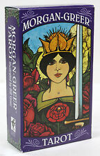 THE MORGAN-GREER TAROT 78 CARD DECK & INSTRUCTIONS NIB MADE IN ITALY CASE WAITE