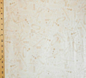 1YD Dressmaking Collection VINTAGE NOTIONS Sewing Supplies Cream A Barickman