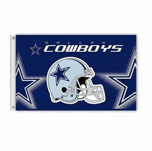 Dallas Cowboys Flag Banner 3x5Ft NFL Football Super Bowl Sports Team