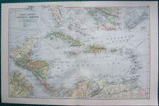 Bermuda Antique Central America/Caribbean Maps & Atlases