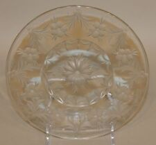 Signed Tuthill Star & Phlox American Brilliant Period Cut Glass 8 Inch Plate