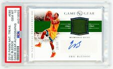 ERIC BLEDSOE 2018 Panini National Treasures GAME GEAR AUTO PSA 10 GEM MINT