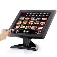 "Monitor LCD Touch Screen 15"" 1024x768 VGA USB  Per PC POS bar ristoranti negozi"