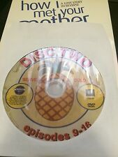 How I Met Your Mother - Season 1, Disc 2 REPLACEMENT DISC (not full season)