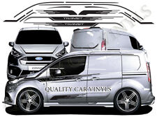 Ford Transit Connect M Sport Style Graphics Stripes Stickers Decals RS312