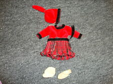 New listing Vogue Ginny Medford tag ice skating outfit with skates from 1956
