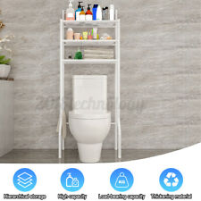 3-Tier Bathroom Over The Toilet Storage Rack Iron Caddy Cabinet Shelf Organizer