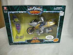 Power Rangers Wild Force LUNAR WOLF Savage Racer Cycle Remote Control R/C Sealed