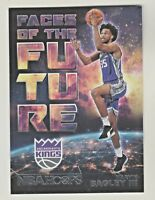 2018-19 Panini Hoops FACES OF THE FUTURE #2 MARVIN BAGLEY III RC Rookie Kings