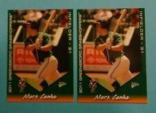 2 - 2011 Multi Ad Sports, Greensboro Grasshoppers - MARK CANHA