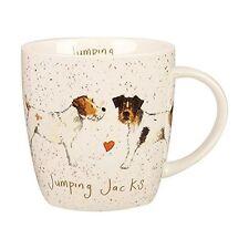 3fc5af33309 Alex Clark Fine China Squash Mug - Dog - Jumping Jack Russell - Full Range