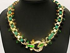 Nickel Crystal Collar Costume Necklaces & Pendants
