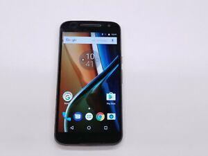 Motorola Moto G4 (XT1625) 16GB Black (Unlocked) Smartphone READ Clean IMEI 47020