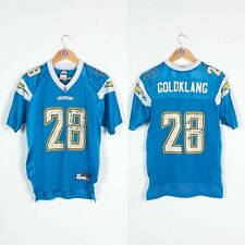 BOYS YOUTHS LOS ANGELES CHARGERS NFL JERSEY GOLDKLANG FOOTBALL 14 - 16 YEARS