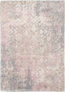 Fading World Babylon 8546 ALGARVE Louis de Poortere PINK Modern Distressed Rugs