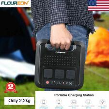 Floureon 220Wh Portable Solar Generator Power Station 120V/300W 4 Usb Ports Usa