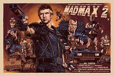 "Mad Max 2 Movie Magnet ( 3"" x 5"" ) FRIDGE MAGNET (BK)"