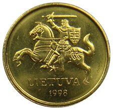 (M4) - Litauen Lithuania - 10 Centu - 1998 - Vytis - UNC - KM# 106